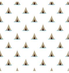 alaska tent pattern seamless vector image