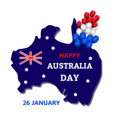 Australia day theme vector