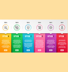 Energy seo shopping and world time icons set vector