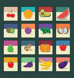 Fruit and Vegetables 1 vector