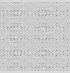 grey seamless perforated pattern background vector image