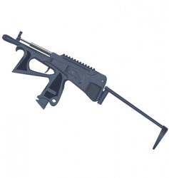 gun weapons vector image