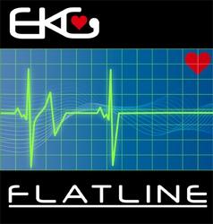 Keg flat line vector
