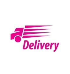 Logo trucking vector