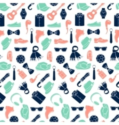 pattern of fashion accessories vector image