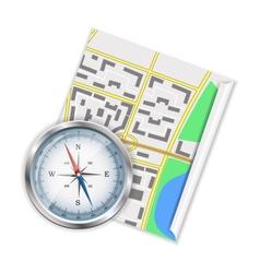 Navigation icon vector image vector image