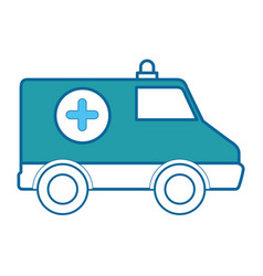 Ambulance icon image vector
