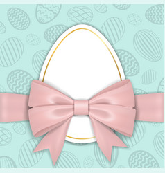 Happy easter background pastel textured eggs vector