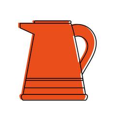 jug with beverage icon image vector image