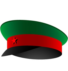 soviet cap vector image