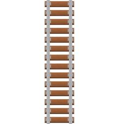 railroad vector image