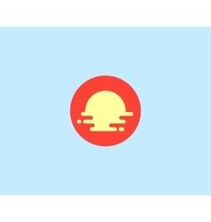 Abstract travel logo design template vector