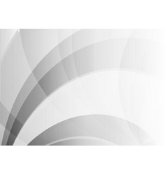 abstract wave geometric white and gray color vector image