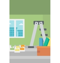 Background of home renovation vector