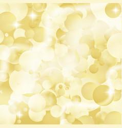 blurred glitter bokeh pattern vector image