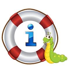 Caterpillar Information Kiosk Sign vector image