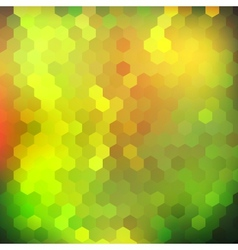 Colorful shiny geometric background vector image