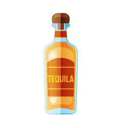 flat bottle icon web design icon vector image