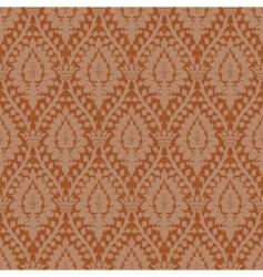 Floral crown pattern vector