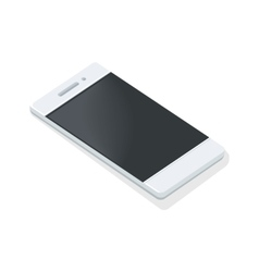 Mobile Phone Icon Isolated Portable Telephone vector