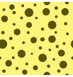 Polka dot brown seamless pattern vector image vector image
