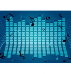 music flow vector image vector image