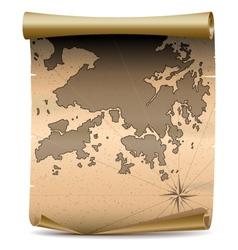 Hong Kong Vintage Map vector image vector image