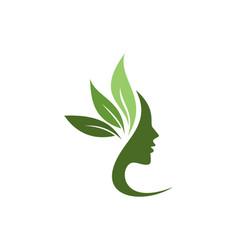 Beauty spa logo concept icon vector