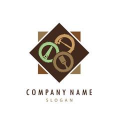 Carpentry logo vector