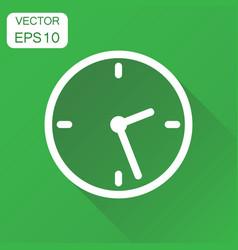 Clock icon business concept timer pictograph vector