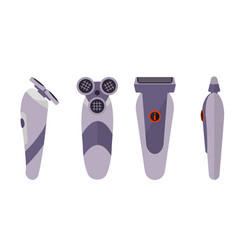 electric shaver vector image