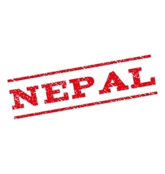 Nepal Watermark Stamp vector