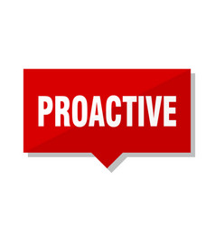 Proactive red tag vector