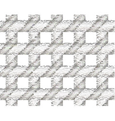 gray checkered textured pattern vector image