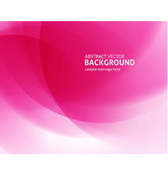Abstract clean pink light lines with lens flare vector
