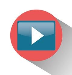 Play video symbol vector