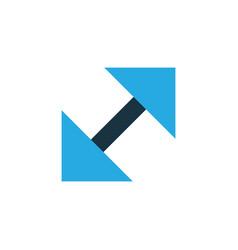Resize colorful icon symbol premium quality vector