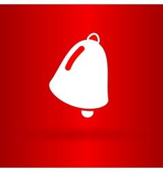 Nice christmas bell vector image vector image