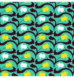 Suzani pattern with Uzbek and Kazakh motifs vector image vector image