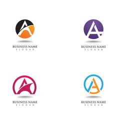A logo and symbols vector