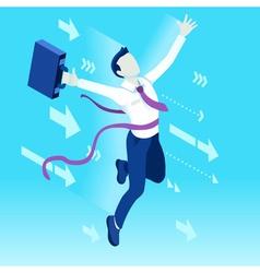 Ambitious business change 61 Job Ambitions concept vector