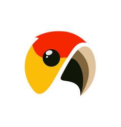 bird logo icon concept vector image