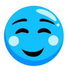 Expression mood happy smiley smile vector