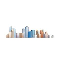 Icon cityscape vector