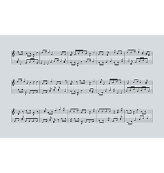 Music notes2 vector