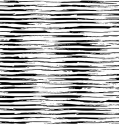 Seamless pattern of horizontal brush strokes vector