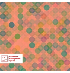 Abstract Seamless Dots Pattern vector image