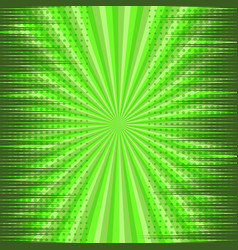 comic page green explosive dynamic concept vector image