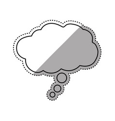 Dream bubble symbol vector