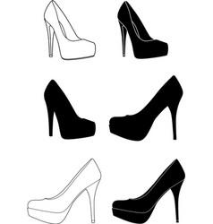High-heels-1 vector